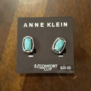 New Anne Klein E-ZComfort Clip Earrings.